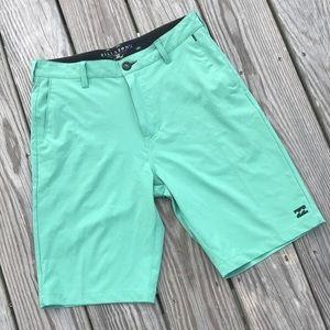 Billabong Platinum Pastel Green Board Shorts